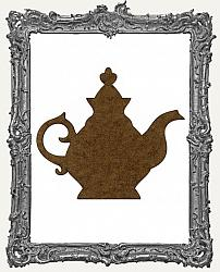 Mixed Media Creative Surface Board - Victorian Teapot