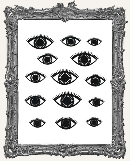 Eye Cut-Outs - 14 Pieces