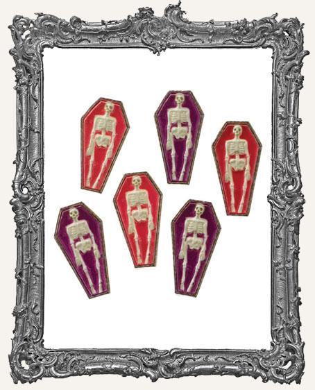 Skeleton Coffin Cabochons