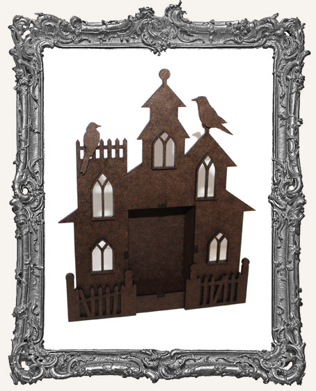 Gothic Haunted House Shrine Kit
