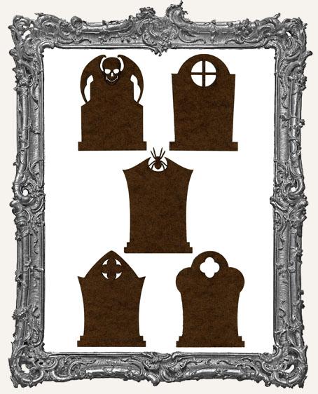 Gothic Tombstone ATC Bases II - Set of 5