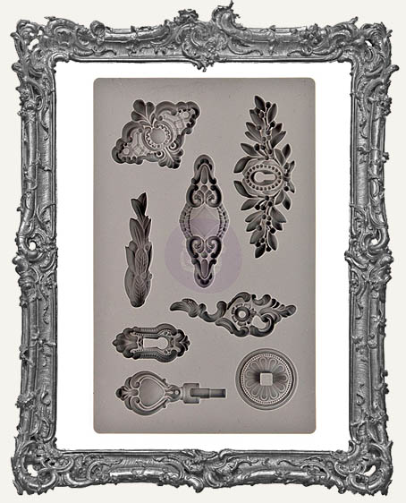IOD Iron Orchid Vintage Art Decor Mould - Trifles