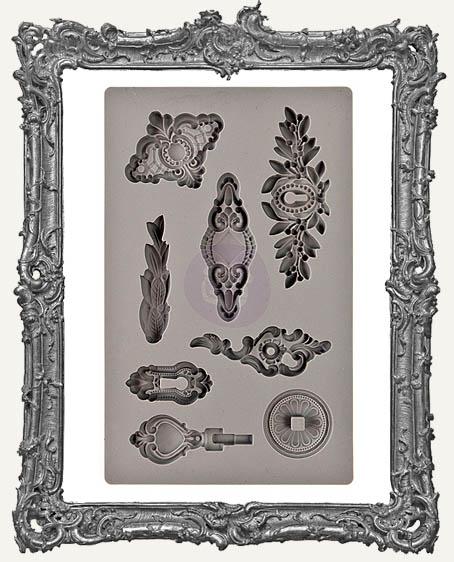 IOD Iron Orchid Vintage Art Decor Mould - Trifles