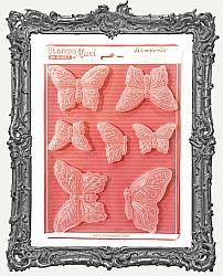 Stamperia A4 Soft Maxi Mould - Butterflies