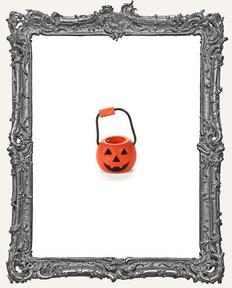 Miniature - Pumpkin Pail - 0.5 Inch - 1 piece