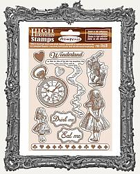 Stamperia Cling Stamp Set - Alice in Wonderland