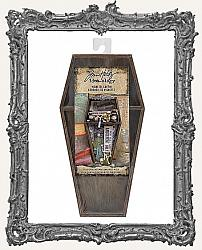 Tim Holtz - Idea-ology - 2020 Halloween Wooden Vignette Coffin
