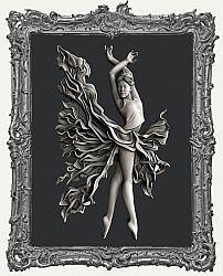 Zuri Silicone Mold - Fire Dancer