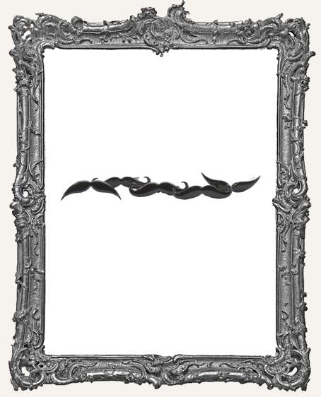 Mustache Brads - 12 Piece