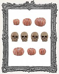 Tim Holtz - Idea-ology - 2020 Halloween Mini Skulls and Pumpkins