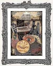 Tim Holtz - Idea-ology - 2020 Halloween Chipboard Baseboards