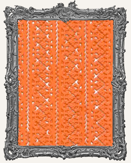 German Dresden Border Baroque ORANGE 8 Strips