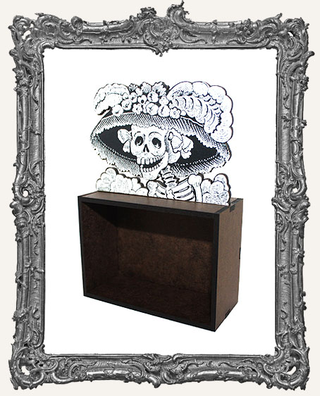 Catrina Skeleton ATC Shrine Kit - Style 2