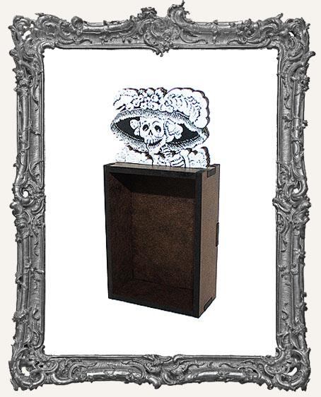 Catrina Skeleton Mini Shrine Kit - Style 3