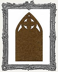 Mixed Media Creative Surface Board - Quatrefoil Gothic Arch