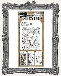 Tim Holtz Mini Layered Stencil Set - Layering Set 43