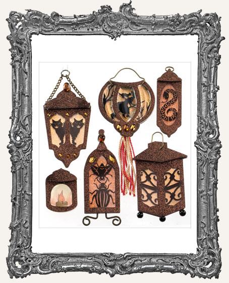Halloween Lanterns Dimensional Embellishments - 6 Pieces