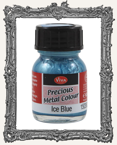Viva Decor Precious Metal Color 25ml - Ice Blue