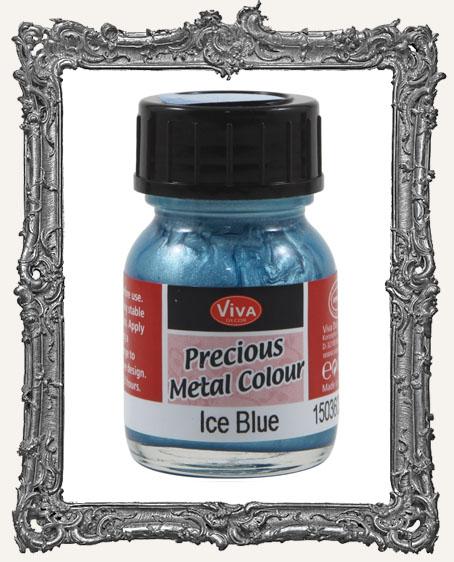Viva Decor Precious Metal Color 25ml - Ice Blue