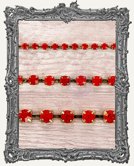 Sandra Evertson RELICS and ARTIFACTS - Rhinestone Chain Pack - Ruby