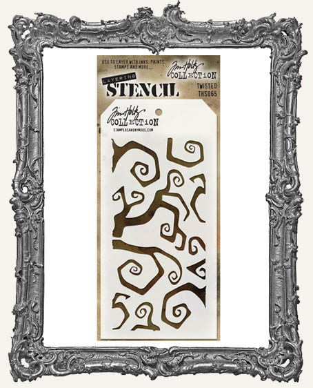 Tim Holtz Layering Stencils - TWISTED