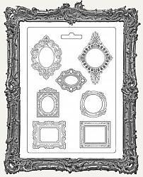 Stamperia A4 Soft Maxi Mould - Baroque Frames