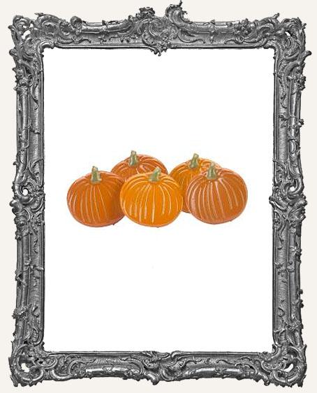 Pumpkin Brads - 12 Piece