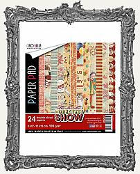 6X6 Ciao Bella Double Sided Circus Paper Pad - The Greatest Show