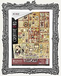 A4 Ciao Bella The Greatest Show Circus Paper Creative Pack 90lb