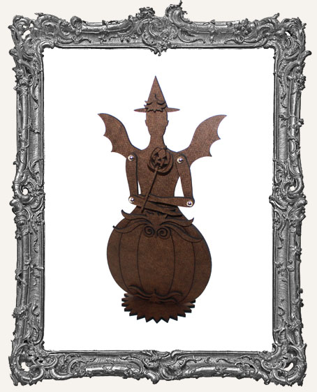 Articulated Victorian Pumpkin Art Doll Kit - SMALL - Classic