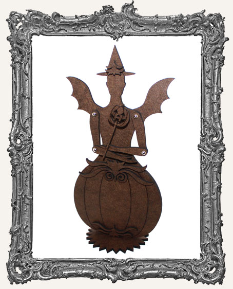 Articulated Victorian Pumpkin Art Doll Kit - MEDIUM - Classic