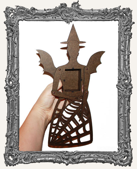 Articulated Victorian Halloween Witch Art Doll Kit - LARGE