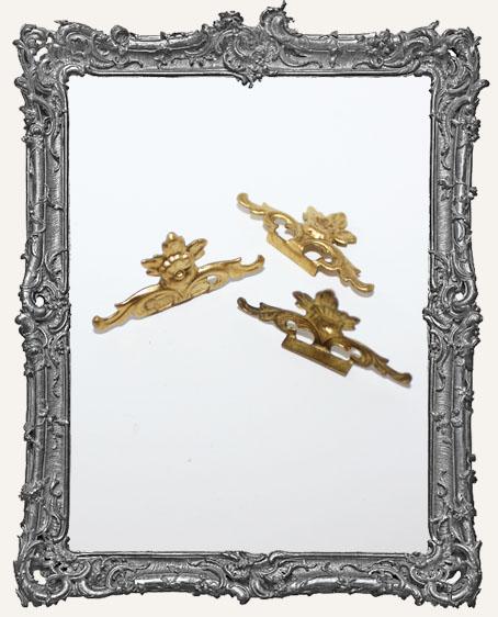 Brass Filigree Header - Style 2