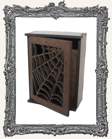 Door Shrine or ATC Box Kit - Spider Webs