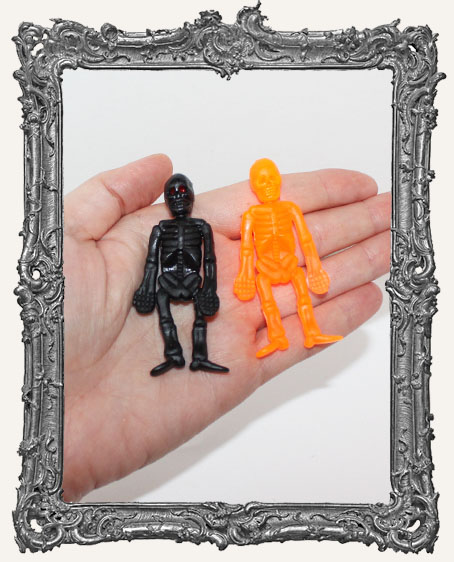 Large Rubber Skeletons - Set of 2