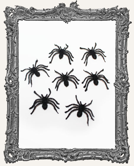 Furry Spiders - Set of 12