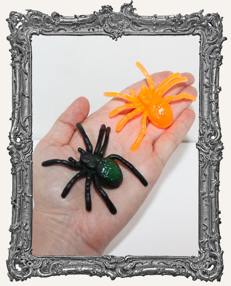 Large Rubber Tarantulas - Set of 2