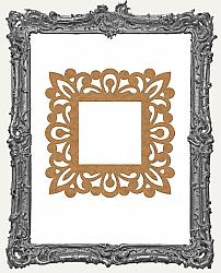 Layered Chipboard Ornate Frame Cut-Outs Style 13 - One Set - 2 Pieces
