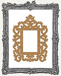 Layered Chipboard Ornate Frame Cut-Outs Style 14 - One Set - 2 Pieces