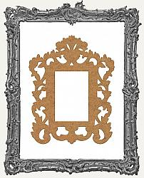Layered Chipboard Ornate Frame Cut-Outs Style 15 - One Set - 2 Pieces