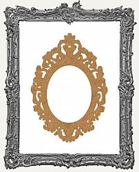 Layered Chipboard Ornate Frame Cut-Outs Style 16 - One Set - 2 Pieces