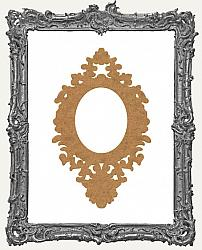 Layered Chipboard Ornate Frame Cut-Outs Style 17 - One Set - 2 Pieces