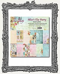 Memory Place Alice in Wonderland Tea Party Collection - Double-Sided Paper Pad 12X12