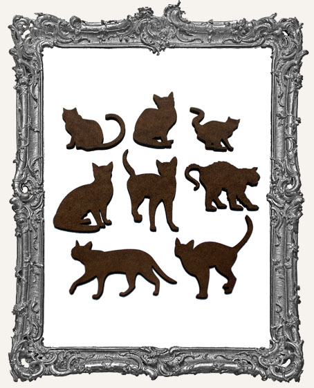 Cat Cut-Outs - 8 Pieces