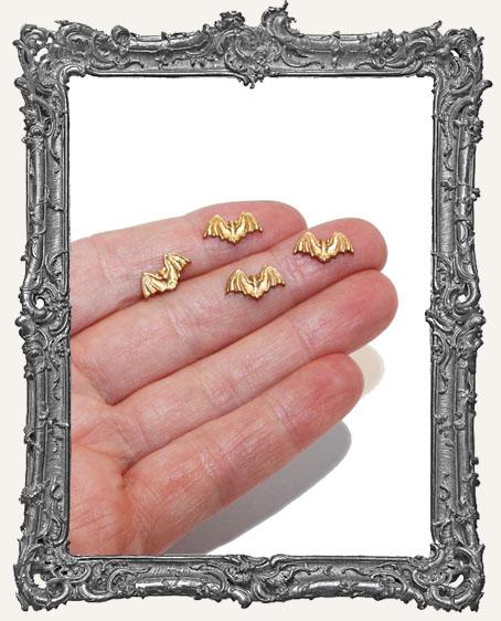 Brass Mini Bats - Set of 4