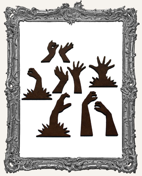 Zombie Arm Cut-Outs - 9 Pieces