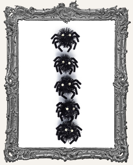 Martha Stewart Halloween Stickers - Carnival Pom Pom Spider