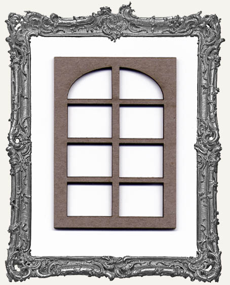 ATC Frame - 8 Pane Rounded Window