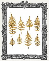 Chipboard Fern Cut-Outs - 8 Pieces