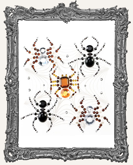 Jolees Halloween Stickers Beaded Spiders